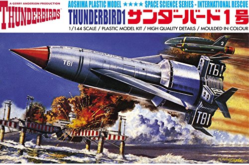 Dragon Models Thunderbird 1, 1:144 Scale Model Kit for sale  Delivered anywhere in USA