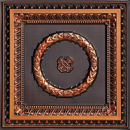 From Plain To Beautiful In Hours 210ac-24x24 Ceiling Tile Antique Copper