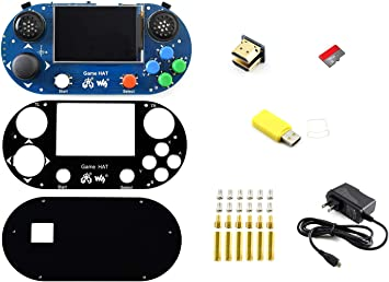 Waveshare Raspberry Pi Accessories Pack G with Micro SD Card Power ...