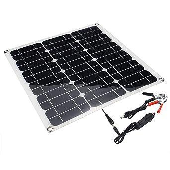 ChaRLes Portátil 40W 12V / 5V Solar Panel Batería Dc/Usb ...