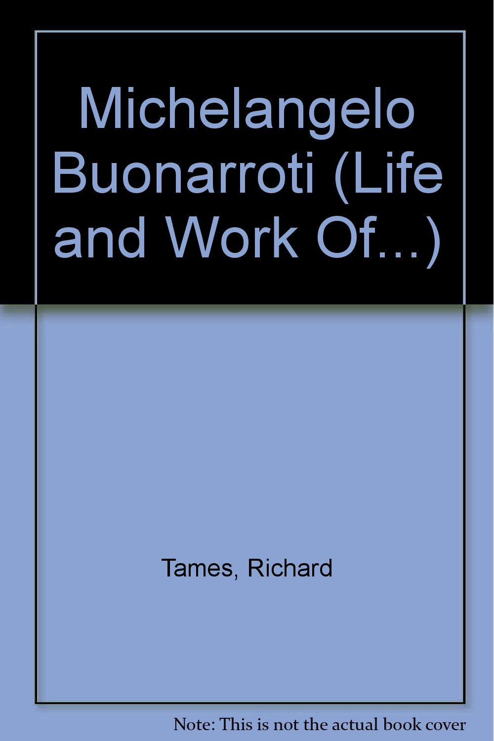 Michelangelo Buonarroti (Life and Work Of¹, the) ebook