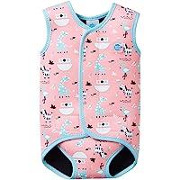 Splash About Baby Wrap Wetsuit Traje de Neopreno, Infantil, Rosa (Nina'S Ark), 18-30 Meses