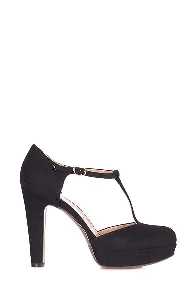 L Autre Chose Femme LDH03811WP05401 Noir Suède Chaussures À Talons ... 93be4a035853