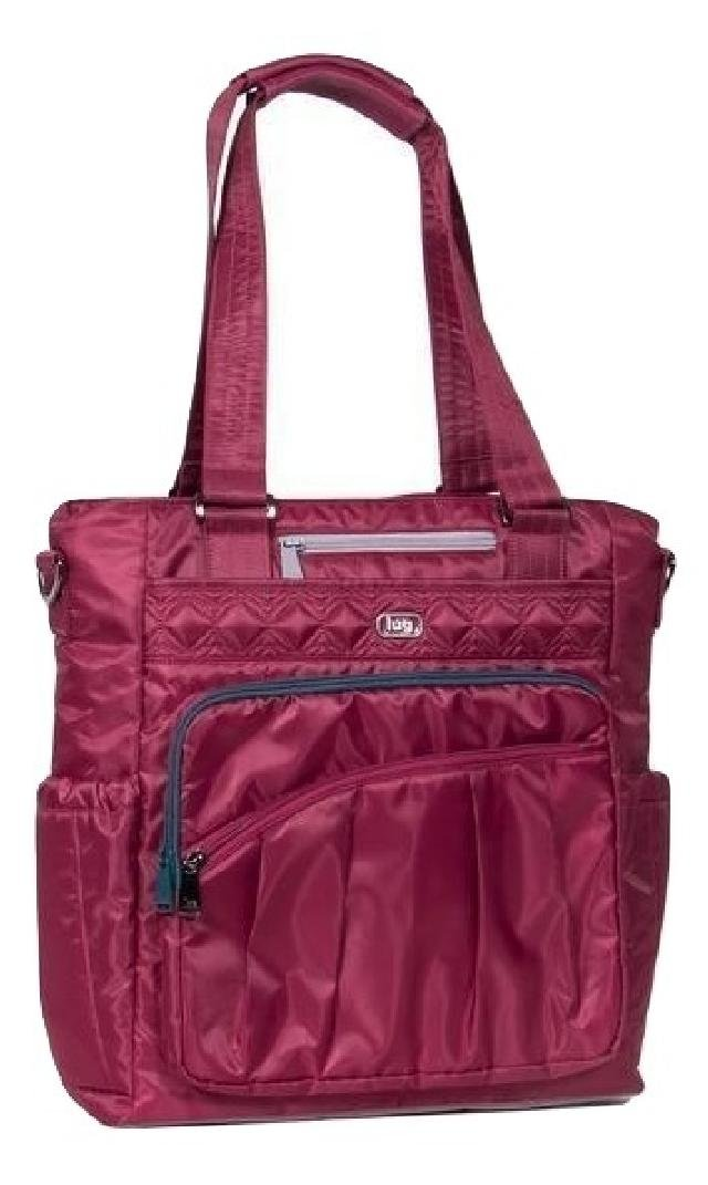 Lug Victory Ace Travel Tote, Cranberry Red, One Size (Model: V-ACE-CRANBERRY RED) LUGCA