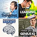 Sharp Mind Hypnosis Bundle: Enhance Your Intelligence, with Hypnosis Speech by  Hypnosis Live Narrated by  Hypnosis Live