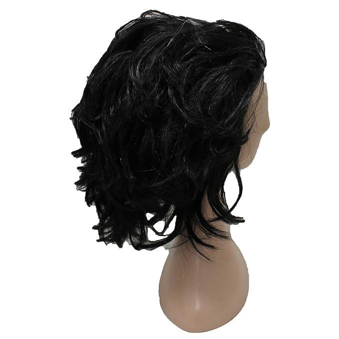 Ousdy Peluca estilo afro Cruella de Vil 691729 - Blanco y negro: Amazon.es: Juguetes y juegos