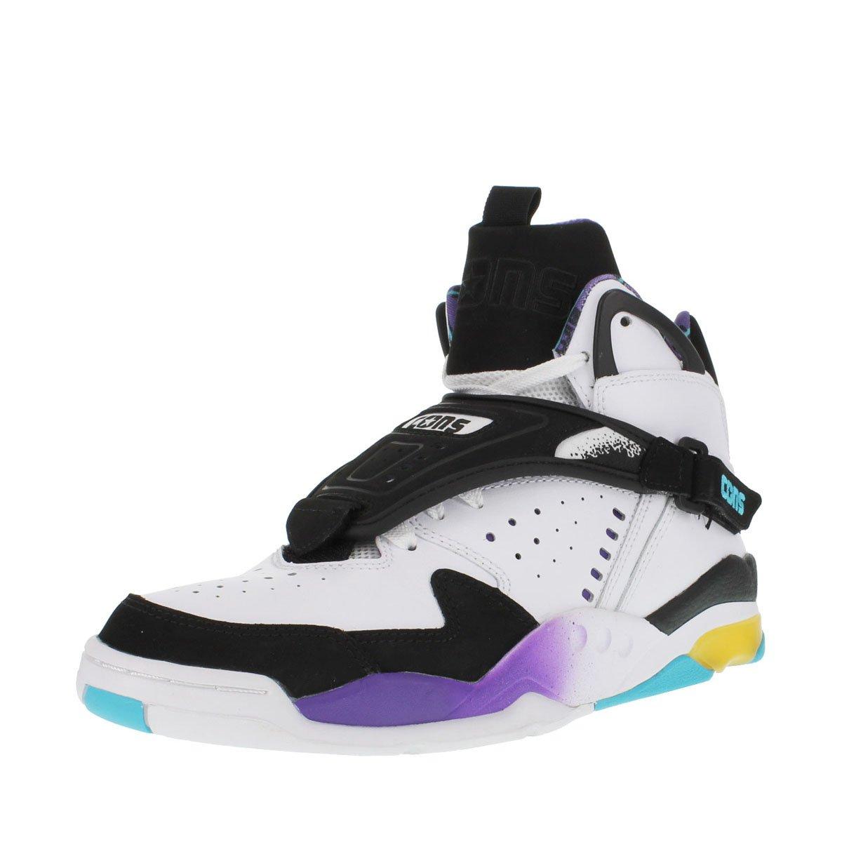 76ac88b27946 Converse aero jam hi grandmama larry johnson retro black white blue purple  yellow size basketball jpg