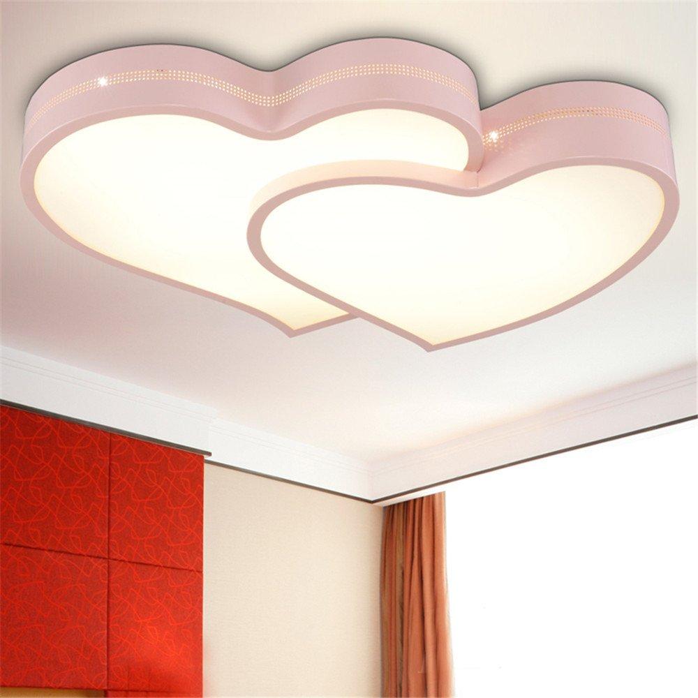 LED Lampe einfach m/ännliche M/ädchen Kinder Zimmer Lampe Sterne Mond Decke Deckenleuchten 500 360mm