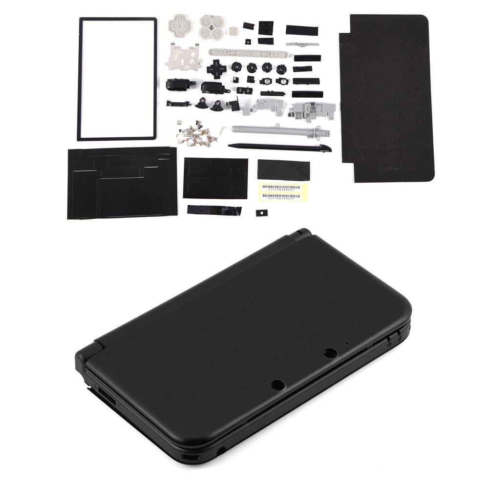 Zerone Completo Carcasa Shell Case Reparación Kits de Piezas de Repuesto para Nintendo 3DS XL: Amazon.es: Electrónica