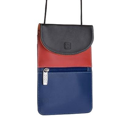 Sac porté épaule en cuir - Colorful Collection - Barbara - Rouge DuDu HDNQ8neTi