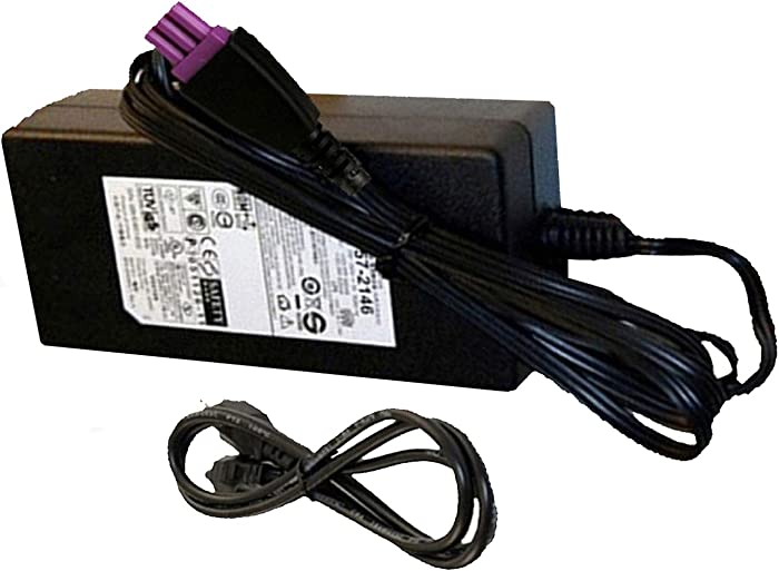 Genuine 0957-2286 AC Adapter for HP Deskjet 1050 1000 2050 Printer Power Supply (With power cord)