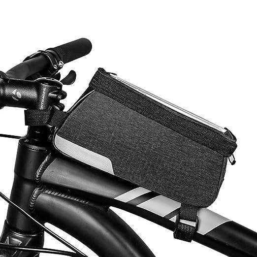 Bolsa de bicicleta Bolsa de almacenamiento delantera para ...