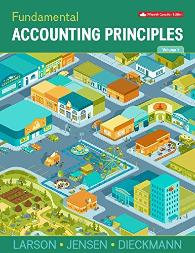 McGraw-Hill Ryerson Fundamental Accounting Principles, Volume 1 (Paperback)