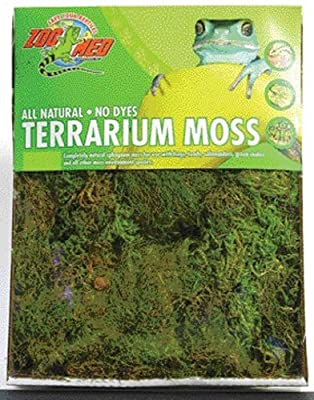 Zoo Med Terrarium Moss 30 to 40 Gallons from Zoo Med Laboratories