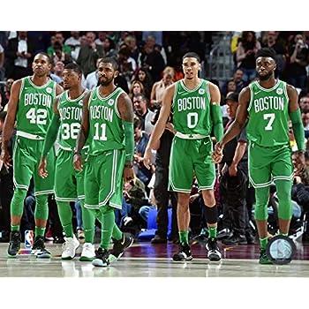 Boston Celtics   Nba Starting Five Photo Size