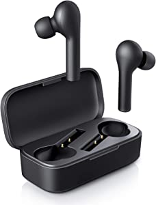 AUKEY True Wireless Earbuds, Bluetooth 5 Headphones in Ear with Charging Case, Hands-Free Headset with Noise Cancellation Mic, Touch Control, 35 Hours Playback for iPhone and Android