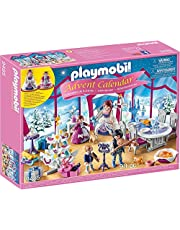 PLAYMOBIL 9485 Advent Calendar Christmas Ball Playset (93 Pieces),Multicolor