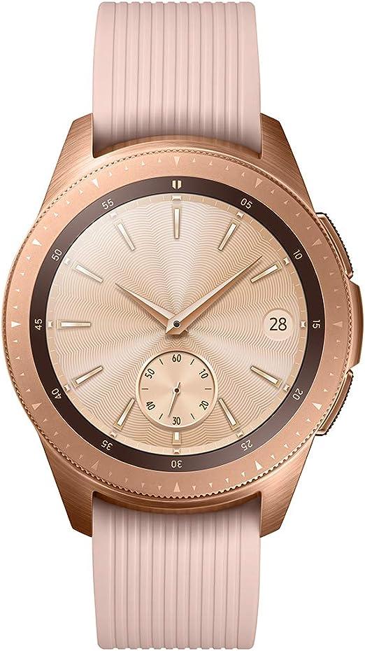Samsung Galaxy Watch - Reloj Inteligente, Bluetooth, Oro-rosa, 42 mm- Version española: Amazon.es: Electrónica