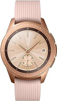 Samsung Galaxy Watch - Reloj inteligente LTE (42 mm) color dorado rosa- Version española: Amazon.es: Electrónica