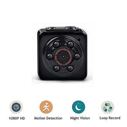 ENKLOV - Minicámara oculta de espionaje 1080P HD, cámara espí