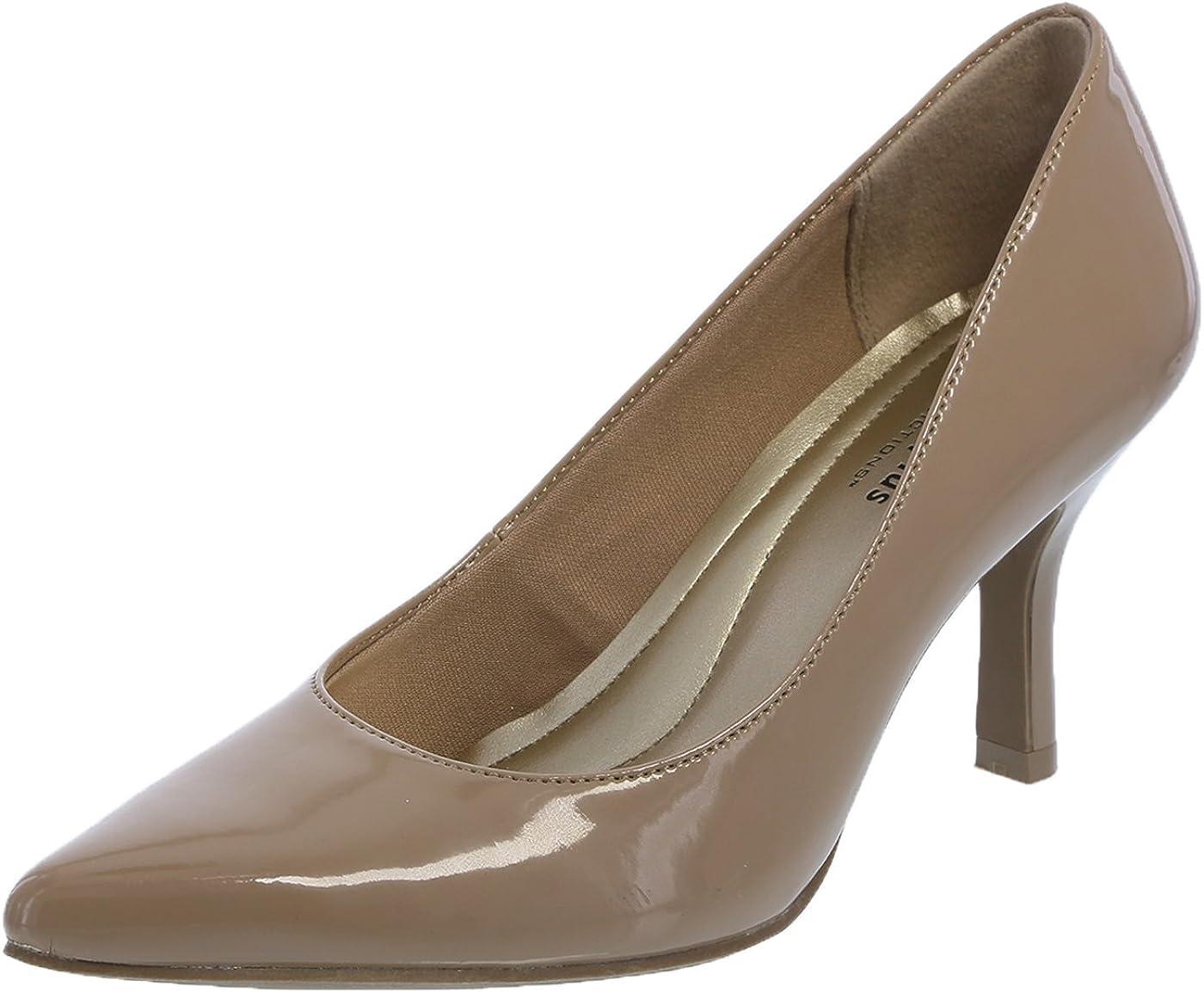 Amazon Com Predictions Comfort Plus Women S Nude Women S Janine Pointy Toe Pump 5 5 Regular Shoes
