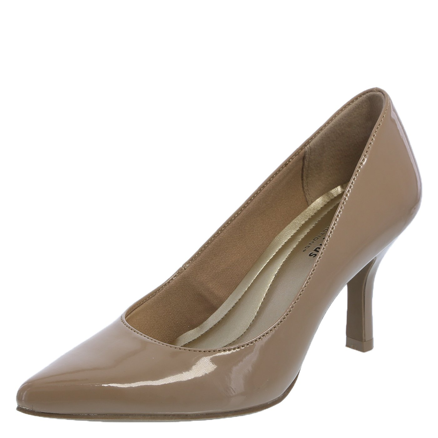 Predictions Comfort Plus by Women's Nude Women's Janine Pointy Toe Pump 9 Regular