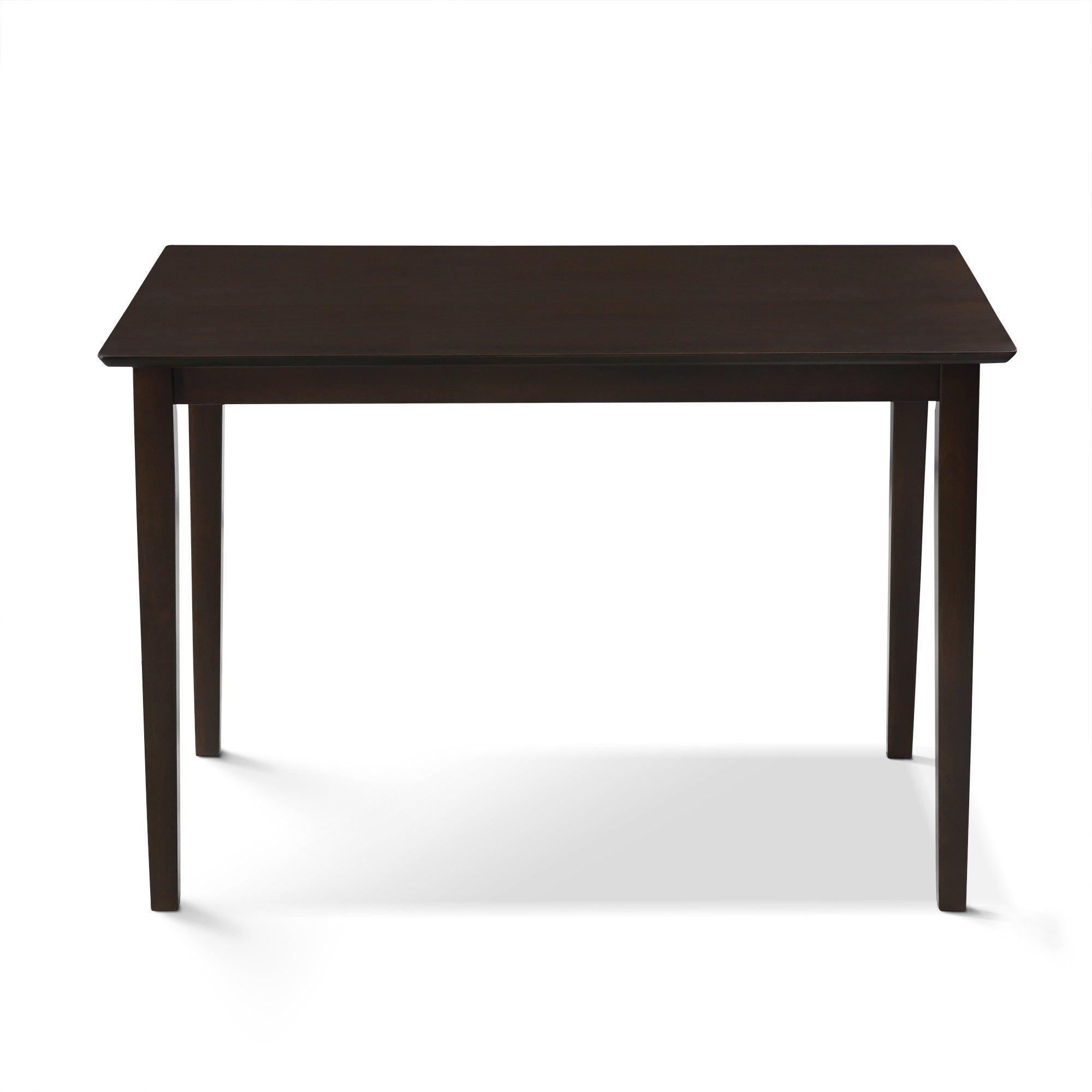 FURINNO Fkdl006-T1 Dining Table, Espresso by Furinno