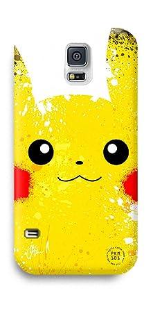 online retailer 7855a 00fe3 Pokemon Pikachu Samsung Galaxy S5 Case - Yellow Pocket Monster ...