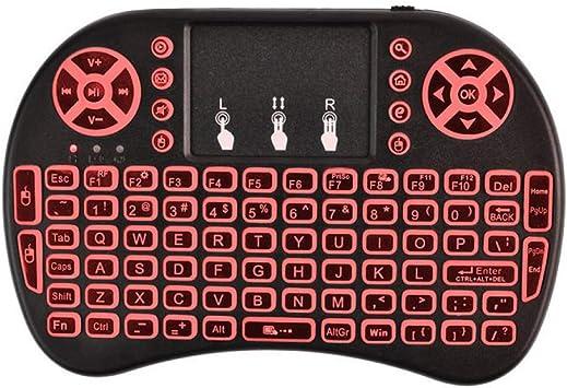 amara-global Mini teclado inalámbrico Bluetooth Touchpad ...