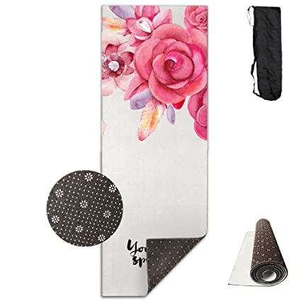 7d5d396c05 Image Unavailable. Image not available for. Color  Unisex You Are Special Custom  Printing Yoga Mats With Carrying Bag