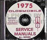 1975 Oldsmobile CD-ROM Repair Shop Manual