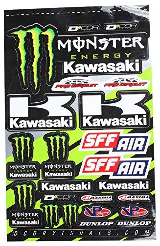 - D'cor Visuals 40-20-116 Kawasaki Decal Sheet