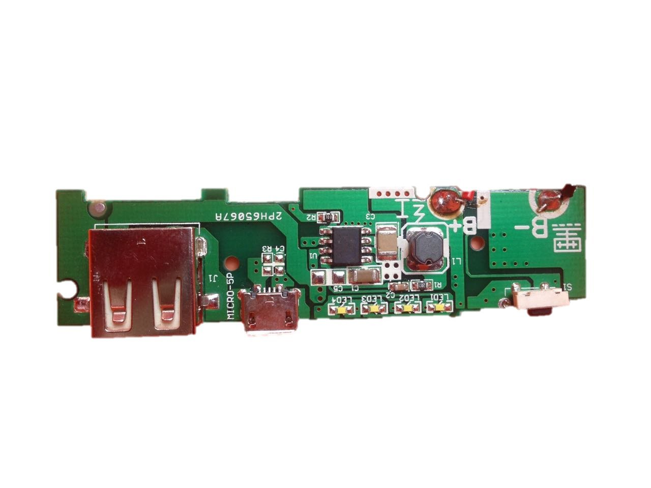Buenasol Lithim Battery Charger Powerbank Circuit Pcb Board Cellphone Lithium Ion Of Lm317 Industrial Scientific