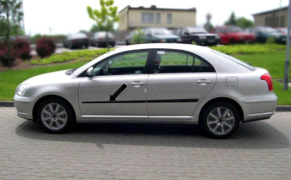 Spangenberg Seitenschutzleisten schwarz f/ür Toyota Avensis II Typ T25 Baujahre 04.2003-10.2008 F15 370001504
