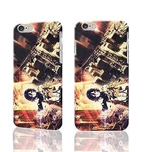 "Mikasa Ackerman in City 3D Rough New Design iphone 6 -4.7 inches Case Skin, fashion design image custom iPhone 6 - 4.7 inches , durable iphone 6 hard 3D case cover for iphone 6 (4.7"") Case"