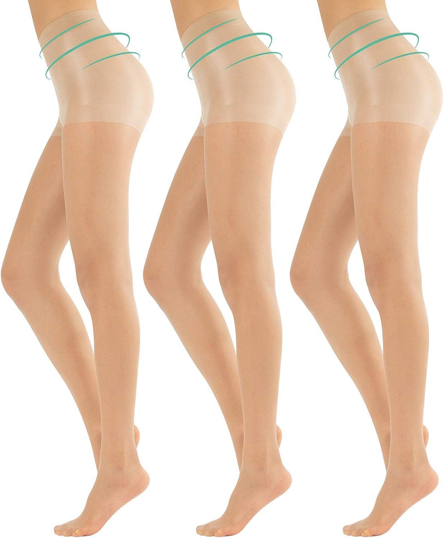 Nero XL CALZITALY Tre Paia Collant Donna Modellanti Velati 20 DEN Naturale L Made in Italy M Calze Shaper per Tutti i Giorni S Collant Daily Shaping con Effetto Snellente Leggero