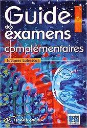 Guide des examens complémentaires