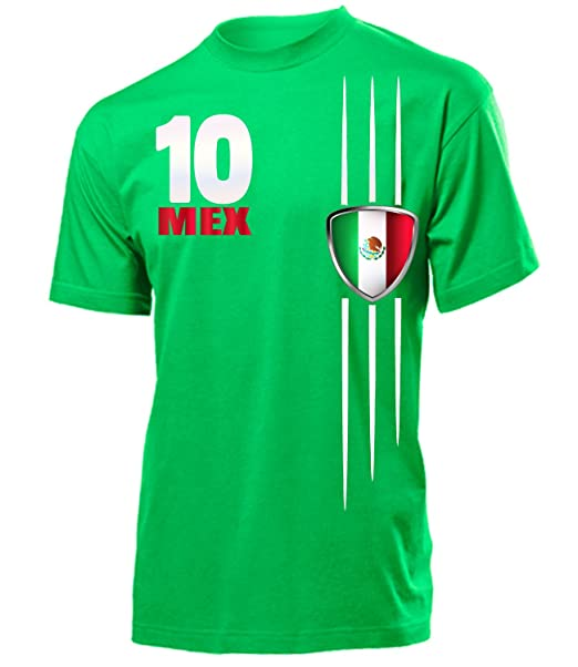 Mexiko Fussball Fanshirt Fan Shirt Tshirt Fanartikel Artikel Frauen Damen T-Shirts