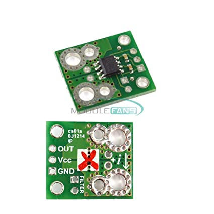 Amazon.com : 20A ACS714 Hall Effect-Based Range Current Sensor Carrier Module for Arduino : Camera & Photo