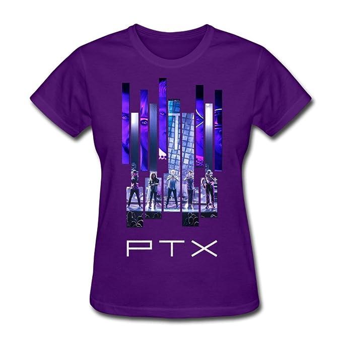 1b78b8da97b82 Amazon.com  JiJa Womens Billboard Pentatonix Tee Shirt Purple M ...