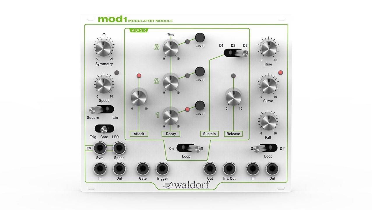 Waldorf MOD1 Eurorack Modulation Module Cream