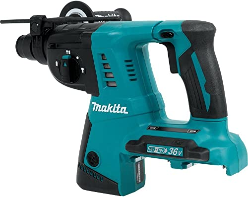 Makita XRH05Z 18V X2 LXT Lithium-Ion 36V Cordless 1-Inch Rotary Hammer, accepts SDS-PLUS bits, Tool Only