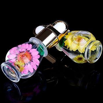 Amazon.com: ltrottedj 1 pcs Mix sabor flores secas aceite ...