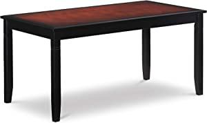 "Linon Camden Table, 36"" w x 20.5"" d x 18"" h, Cherry Coffee"