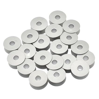 kesheng 20pcs bobinas de aluminio para máquina a coser Industrial accesorio