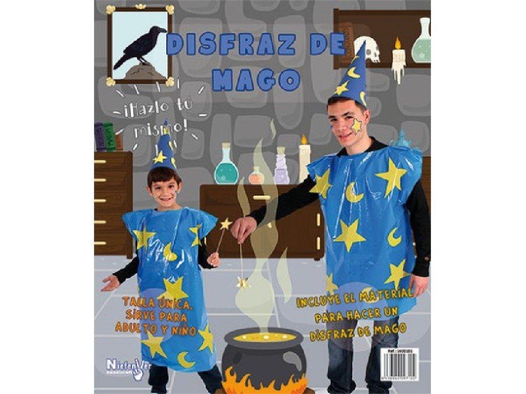 Niefenver Disfraz Bolsa Plástico Mago: Amazon.es: Juguetes y ...