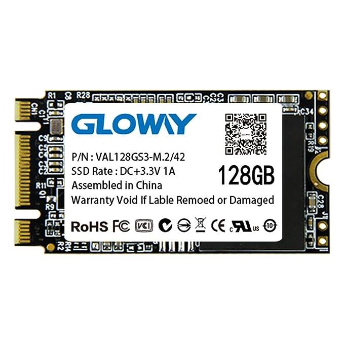 gloway SSD 128 GB NGFF M.2 22 x 42 mm de disco duro sólido: Amazon ...
