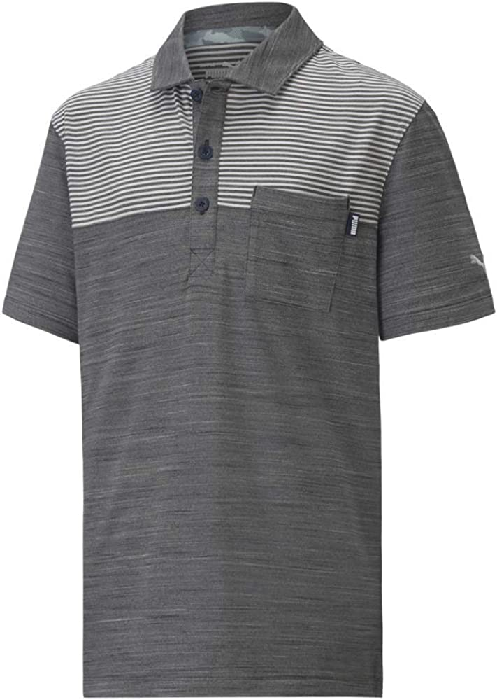 PUMA Boy's Golf 2020 Cloudspun Pocket Polo