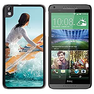 Surf Girl Durable High Quality HTC Desire 816 Phone Case