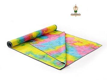 HZJ Yoga Mate Toalla De Yoga Suave, Sudor Absorbente, No Bikram Toallas Calientes De